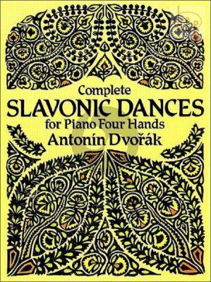 Complete Slavonic Dances Piano 4 Hands