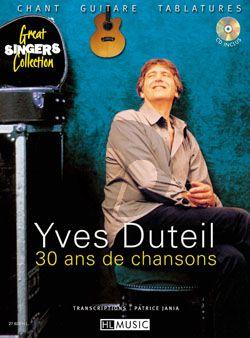 Duteil 30 Ans de Chansons (Voice-Piano with Cd)