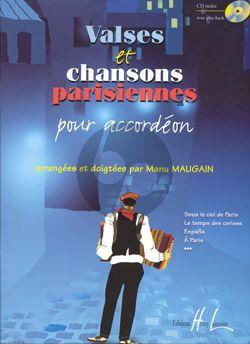 Valses et Chansons Parisiennes (Bk-Cd) (Maugain)