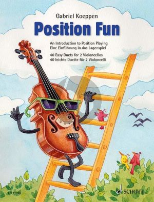 Koeppen Position Fun - 40 Easy Duets for Violoncellos (An Introduction to Position Playing)