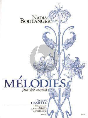 Boulanger Melodies Vol.1 (Voix Moyenne)