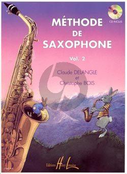 Delangle Methode de Saxophone Vol.2 (Bk-Cd)