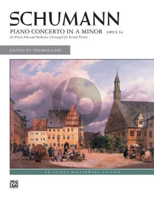 Schumann Concerto A-minor Op.54 edition 2 Piano's (Edited by Thomas Labe) (2 Copies Required for Performance)