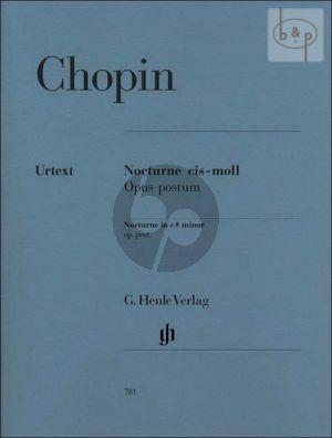 Nocturne cis-moll (Lento con gran espressione) Op.Posthume (KK IVa Nr. 16) Klavier