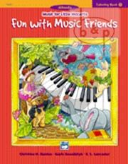 Music for Little Mozarts Vol.1 Coloring Book