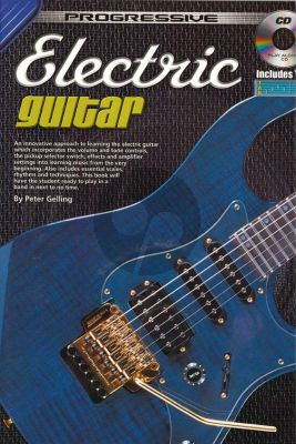 Gelling Progressive Electric Guitar (Bk-Cd)