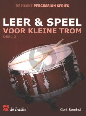 Bomhof Leer & Speel voor kleine Trom Vol. 2