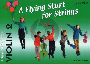 Thorp A Flying Start for Strings Violin 2 Part (Suitable for Teaching Individuals or Groups)