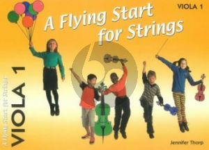 Thorp A Flying Start for Strings Viola 1 Part (Suitable for Teaching Individuals or Groups)
