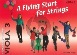 Thorp A Flying Start for Strings Viola 3 Part (Suitable for Teaching Individuals or Groups)