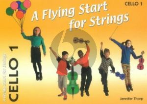Thorp A Flying Start for Strings Cello 1 Part (Suitable for Teaching Individuals or Groups)