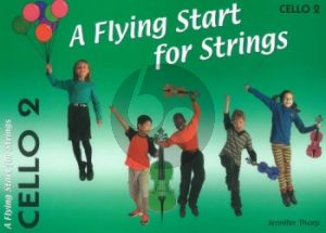 Thorp A Flying Start for Strings Cello 2 Part (Suitable for Teaching Individuals or Groups)