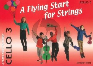 Thorp A Flying Start for Strings Cello 3 Part (Suitable for Teaching Individuals or Groups)