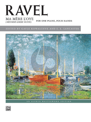 Ravel Ma Mere L'Oye (Mother Goose Suite) Piano 4 hds. (Kowalchyk-Lancaster)