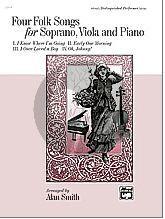 4 Folksongs for Soprano-Viola-Piano