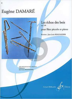 Damare Les Echos des Bois Op.220 Piccolo-Piano (Beaumadier) (Difficile [7])