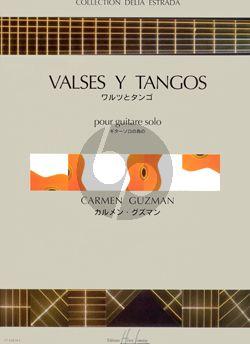 Guzman Valses y Tangos pour Guitare