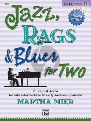 Jazz-Rags & Blues for Two Vol.4