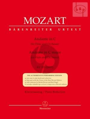 Mozart Andante C-major KV 315 (285e) Flöte-Klavier (edited by R.Brown & R.Engel)