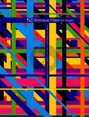 Album 50 Baroque Fillers for Organ
