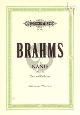 Nanie opus 82 (Choir-Orchestra) (Vocalscore)