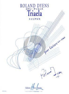 Dyens Triaela pour Guitare (Very Difficult)