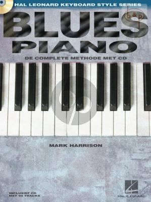 Harrison Blues Piano (Complete Method) (Book with Audio online)