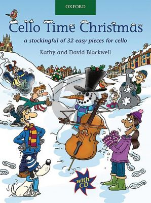 Blackwell Cello Time Christmas (A Stockingful of 31 Easy Pieces for Cello - Solos and Duets) (Bk-Cd)