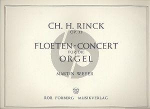 Rinck Flöten-Konzert Op.55 für Orgel (Martin Weyer)
