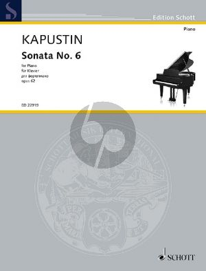 Kapustin Sonata No.6 Op.62 Piano solo