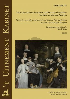 't Uitnement Kabinet Vol. 6 Works for an High Instrument and Bass or Bc (edited by Rudolf Rasch)