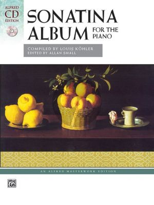 Sonatina Album for Piano Book with 2 CD's (Compiled by Louis Köhler) (edited by Allan Small)