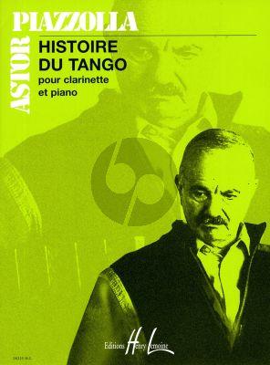 Piazzolla Histoire du Tango Clarinette et Piano
