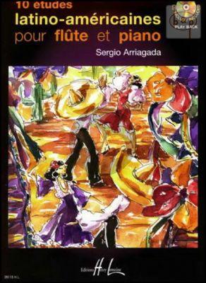 10 Etudes Latino-Americaines Vol.1 Flute et Piano