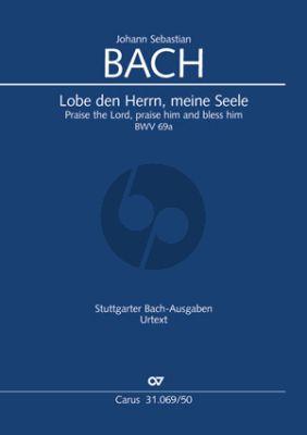 Bach Kantate No.69A BWV 69A Lobe den Herrn, meine Seele (Kantate zum 12. Sonntag nach Trinitatis) (Klaus Hofmann) (KA)