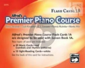 Premier Piano Course Book 1A Flash Cards