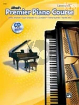 Premier Piano Course Book 1B Lesson Book