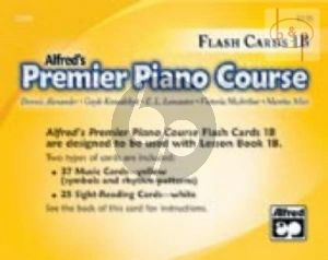Premier Piano Course Book 1B Flash Cards