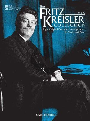 Fritz Kreisler Collection Vol.5 8 Original Pieces
