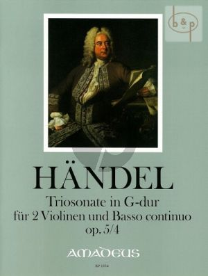 Triosonate G-dur Op.5 No.4 HWV 397