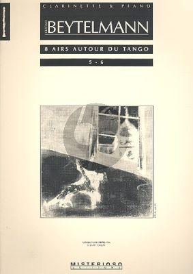 Beytelmann 8 Airs Autour du Tango No.1 - 2 Clarinette et Piano