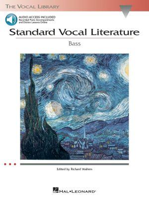 Standard Vocal Literature Book-Audio Online