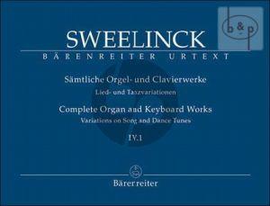 Samtliche Orgel- & Clavierwerke Vol.4 / 1 (Lied und Tanzvariationen Part 1)