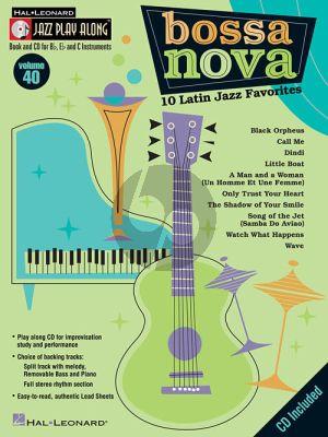 Bossa Nova (Jazz Play-Along Series Vol.40)