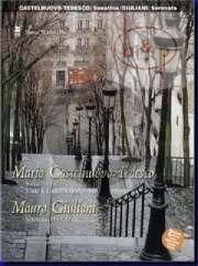 Castelnuovo-Tedesco Sonatine Flute-Guitar Op.127 / Giuliani Serenata Op.127 Flute part (Bk- 2 Cd DeLuxe Set) (MMO minus Flute)