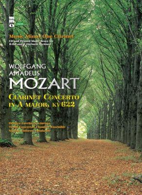 Mozart Concerto A-major KV 622 Clarinet-Orchestra (Bk-Cd) (MMO)