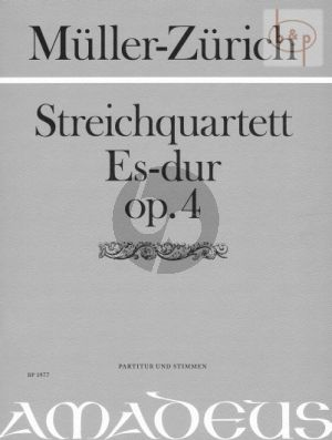 Quartett Es-dur Op.4