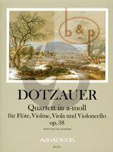 Quartet a-minor Op.38 (Score/Parts)