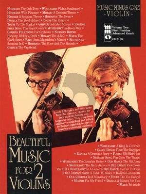 Beautiful Music for 2 Violins Vol.2 (2nd. Position) (Bk-Cd) (MMO)