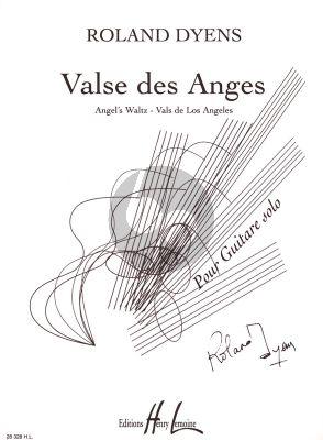 Dyens Valse des Anges pour Guitare (adv.)